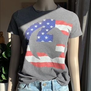 Authentic Gucci flag T-shirt limited edition